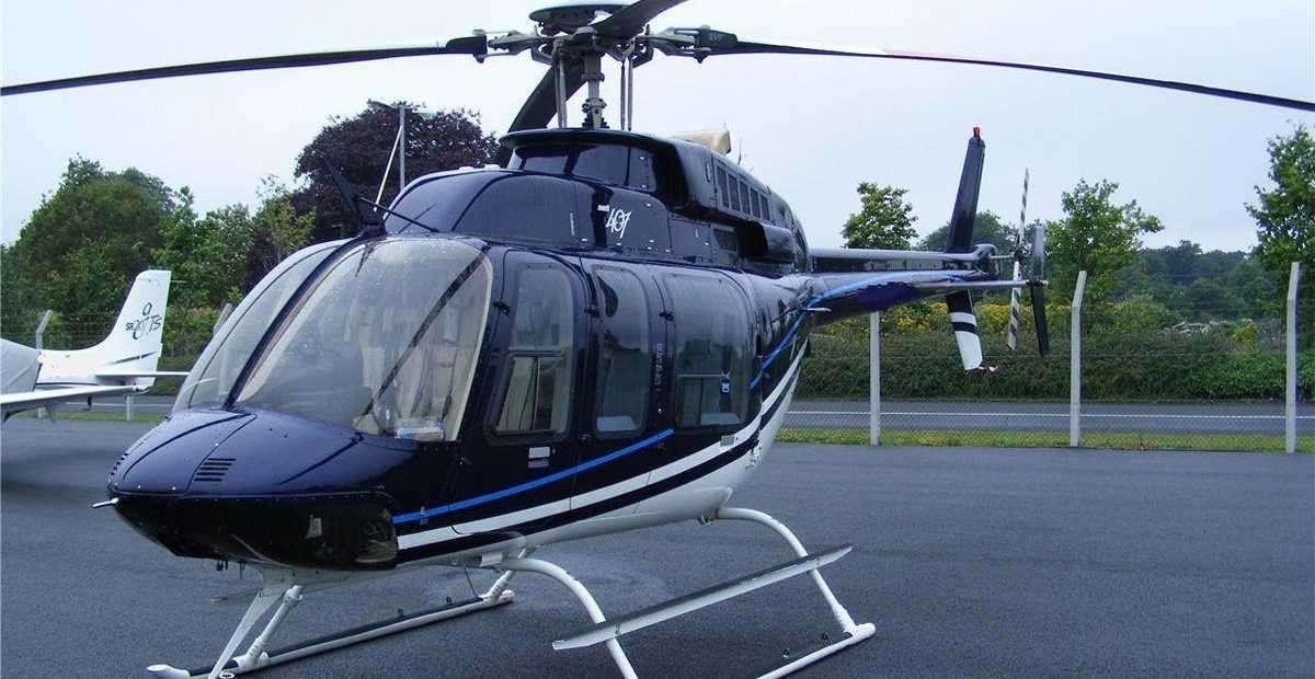 BELL 407 JET RANGER - for charter