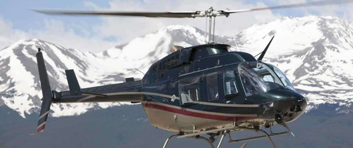 BELL 206 JET RANGER - for charter