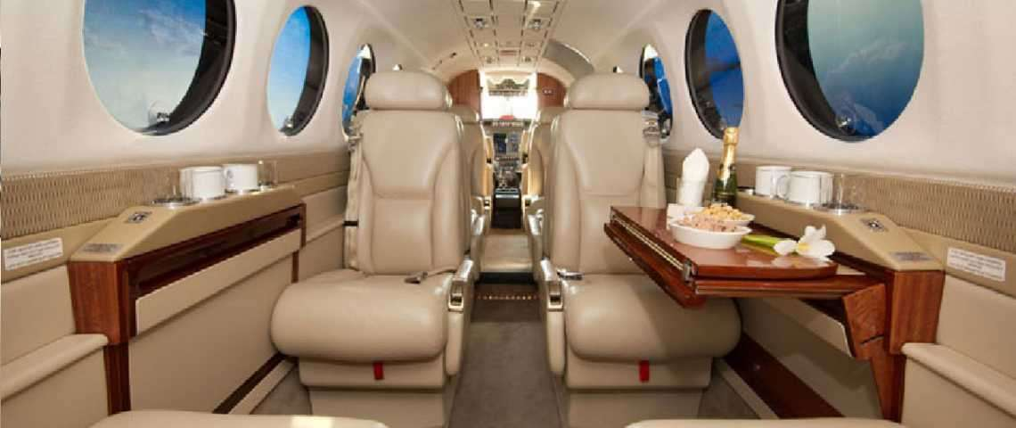 King Air 350i - for charter
