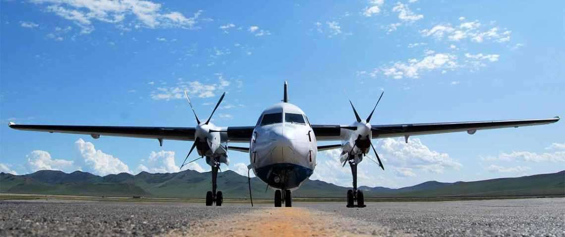 Fokker 50 - for charter