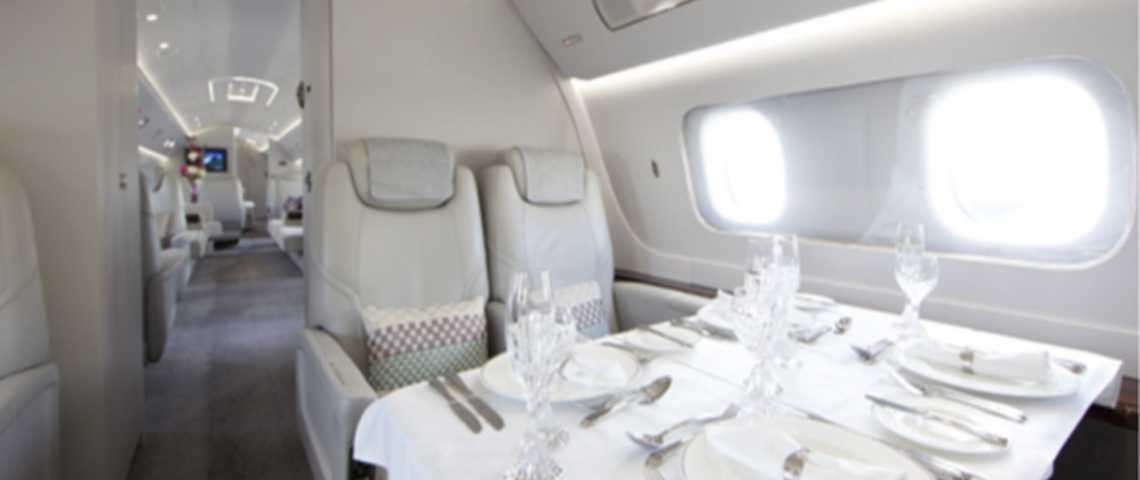 Embraer Lineage 1000 - for charter