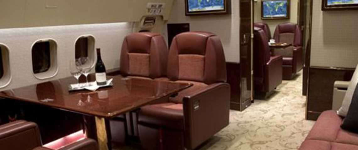 Boeing Business Jet - for charter