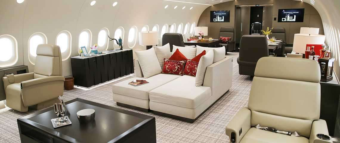 Boeing 787 Dreamliner - for charter