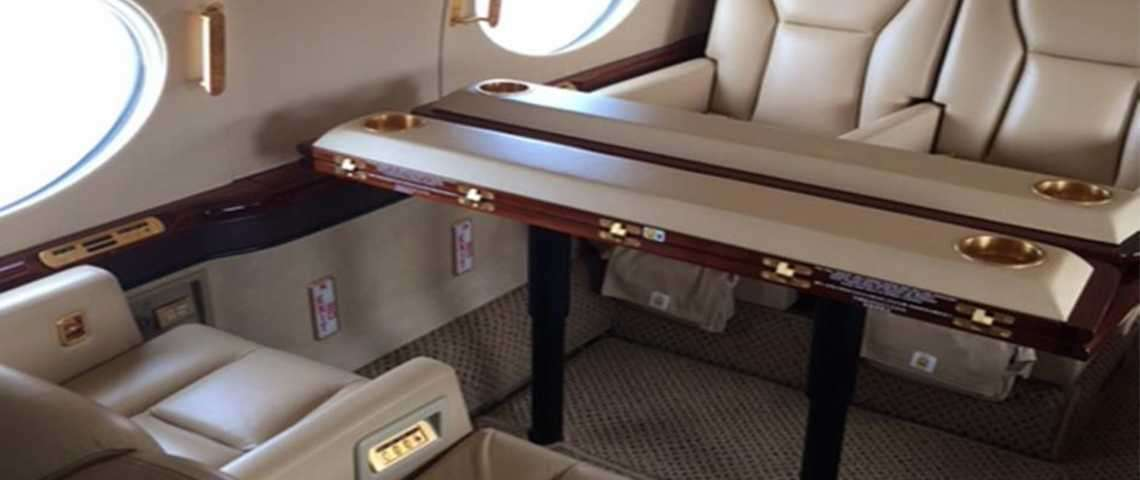 Gulfstream G550 - for charter