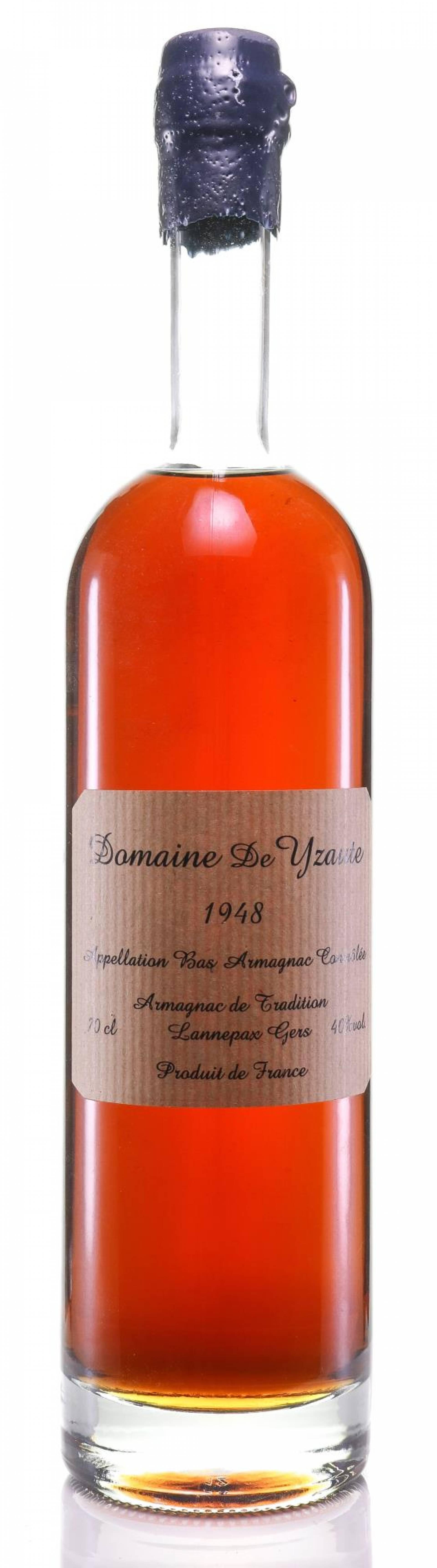 Armagnac 1948 Domaine de Yzaute