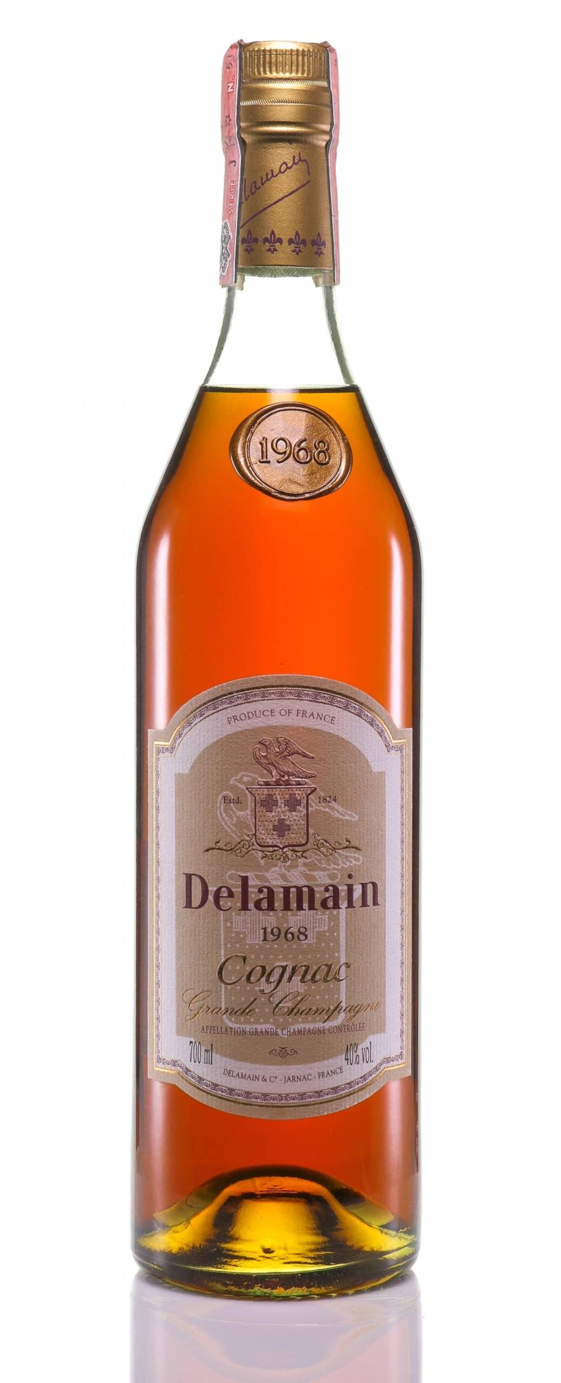 Cognac 1968 Delamain OWC