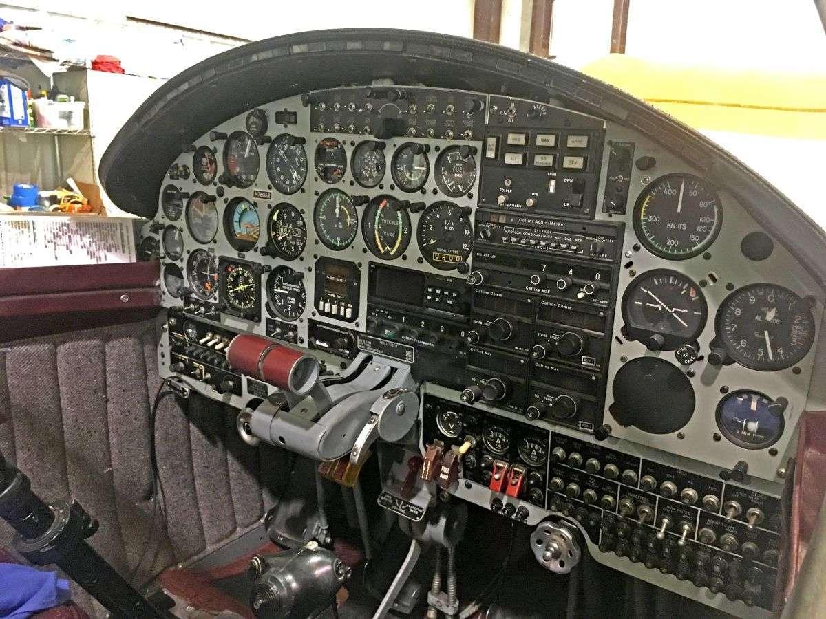 1964 Morane Saulnier ParisJet MS 760 IIB