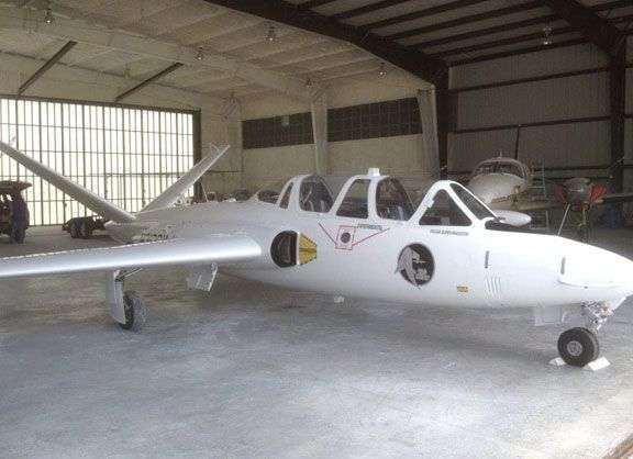 1968 Fouga Magister