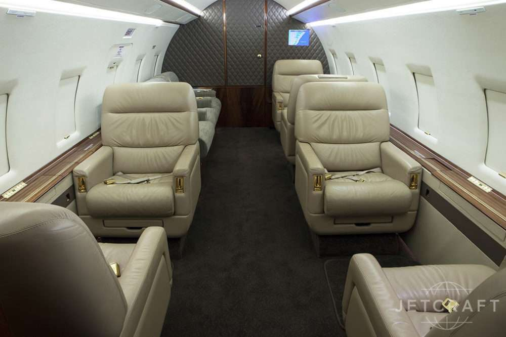 1999 BOMBARDIER CHALLENGER 604 S/N 5407