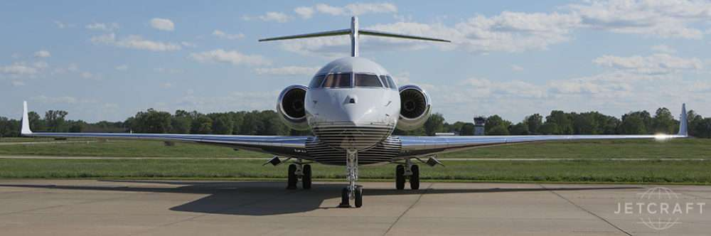 2017 BOMBARDIER GLOBAL 6000 S/N 9708