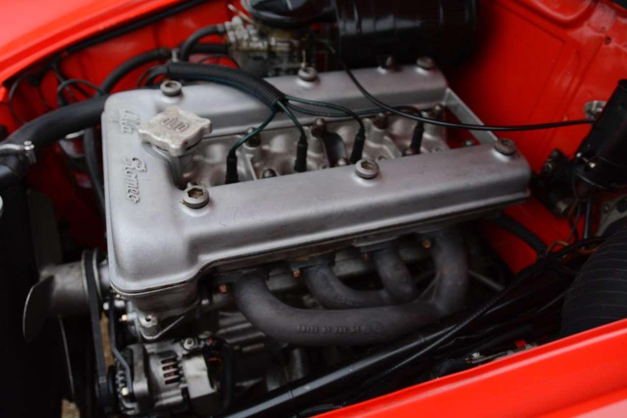 Alfa Romeo Giulietta Spider 1300 1960