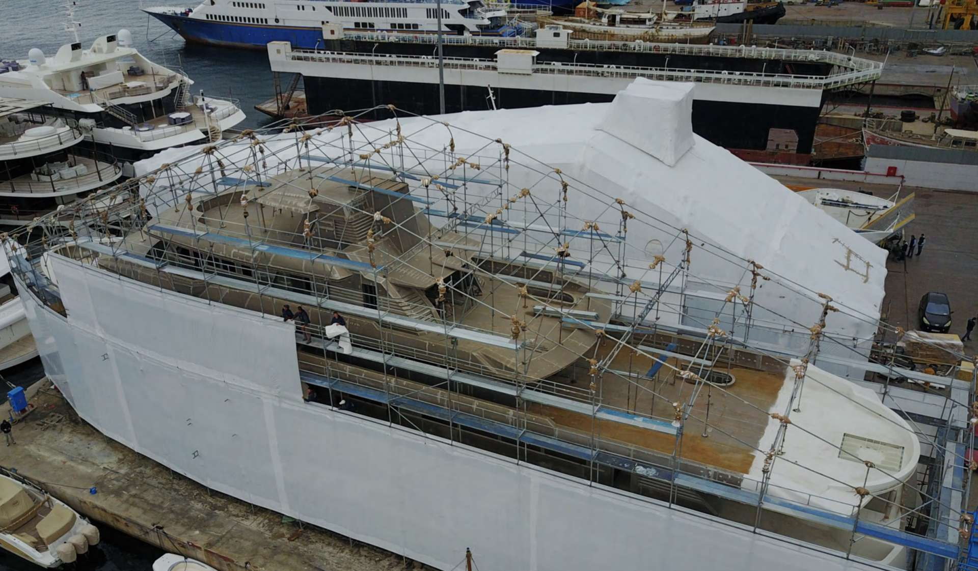 50-meter Expedition Yacht New Build Project
