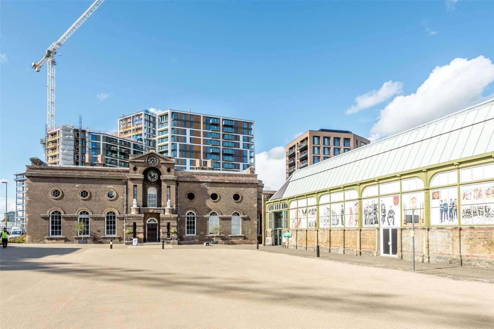 Compton House., Royal Arsenal Riverside, Woolwich, London, SE18