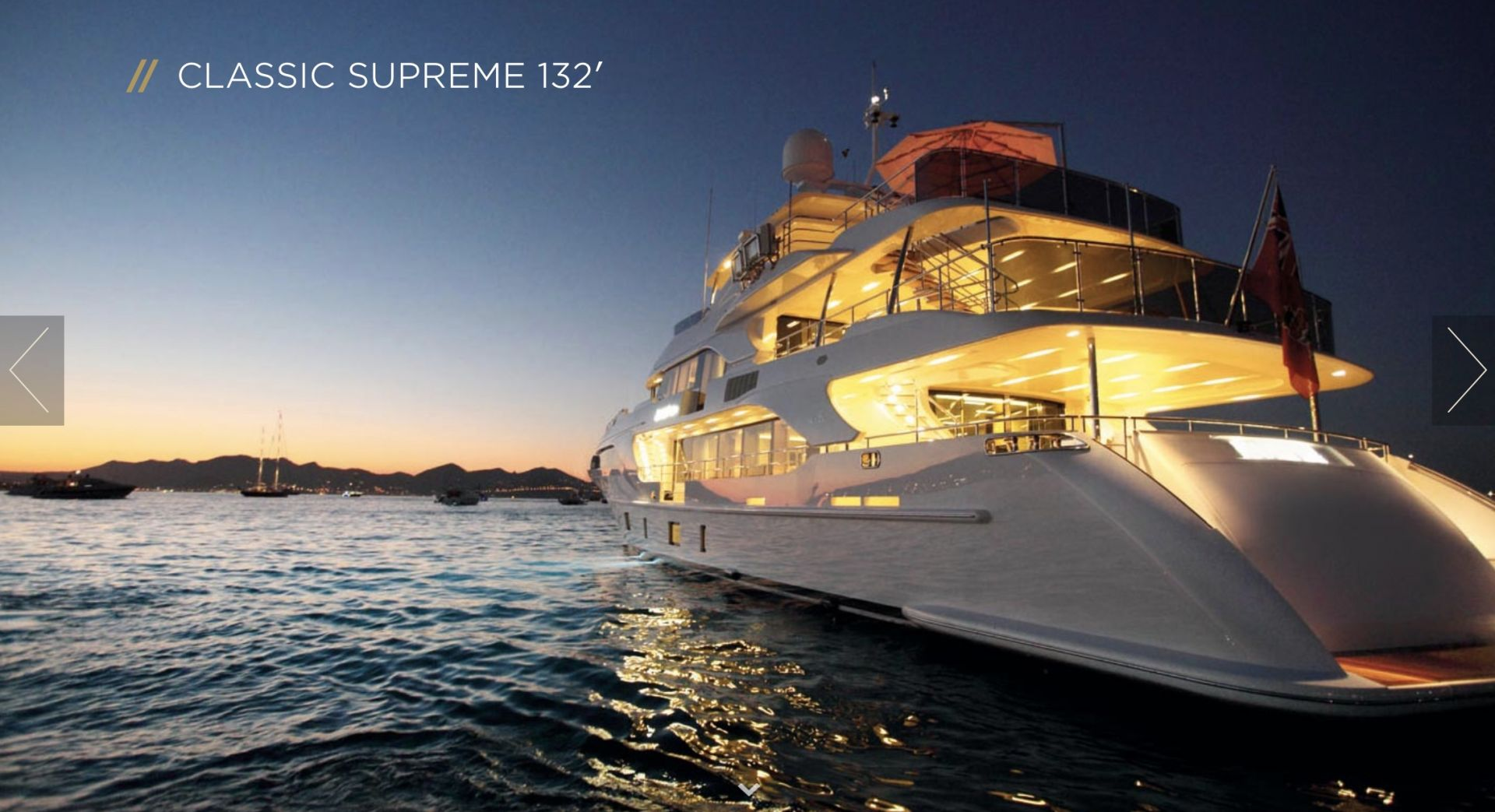 Benetti 132 Classic Supreme