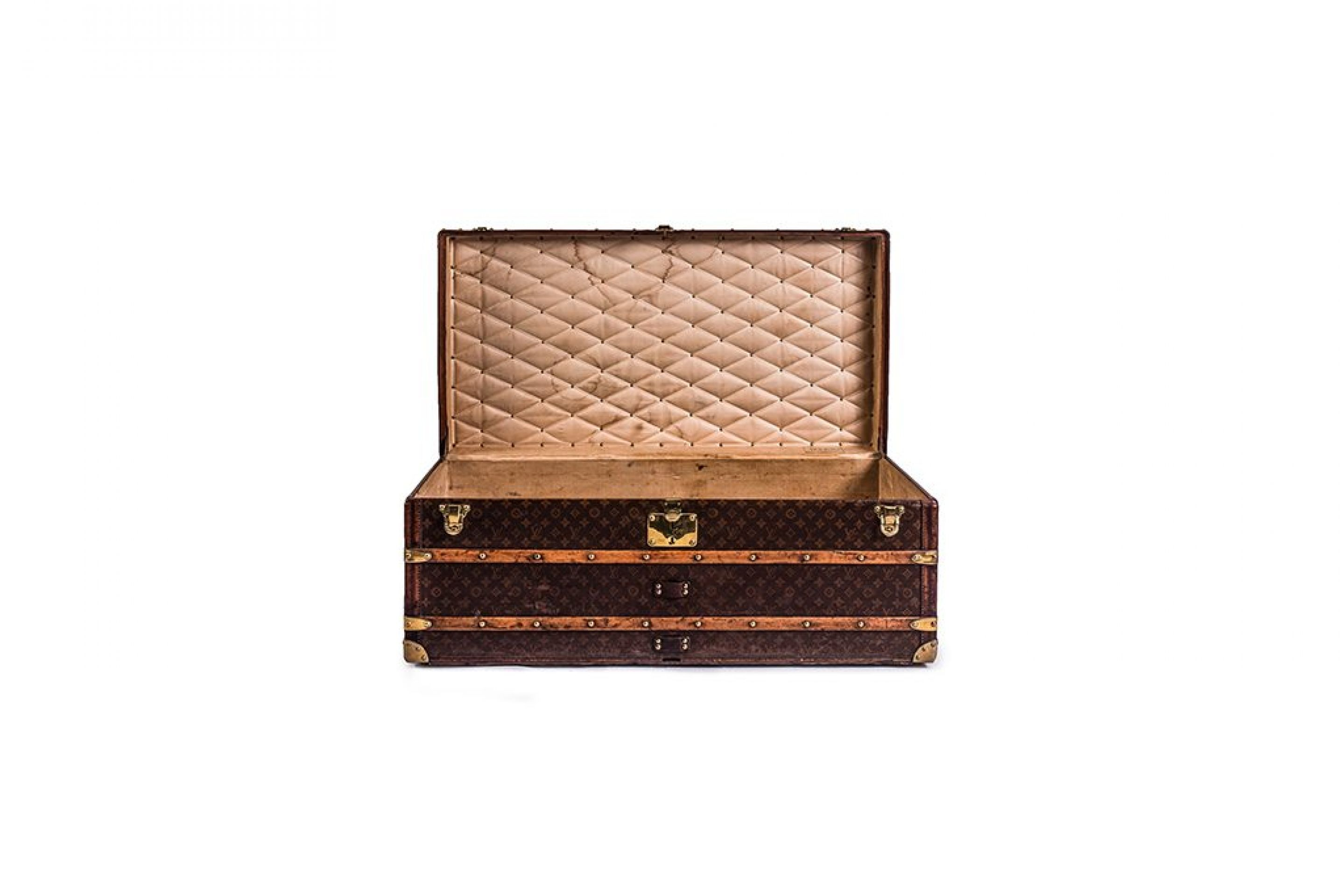 Louis Vuitton High Foot Locker Trunk