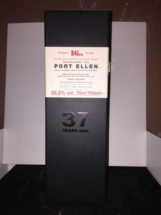 Port Ellen 37 years old 16th Release - 55.2% 70 cl - OB