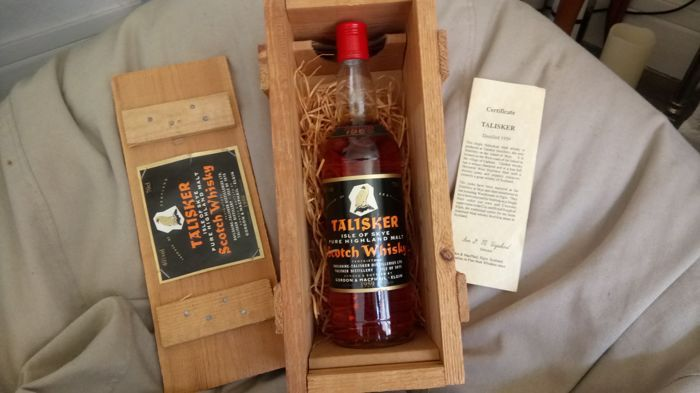 Talisker 1959 with wooden box
