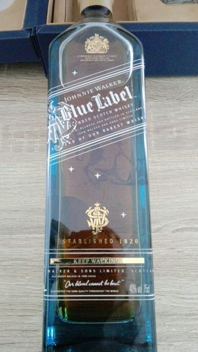 Johnnie Walker Blue Label Limited Edition 'Moon and Horse SET' 750ml 40% vol/alc