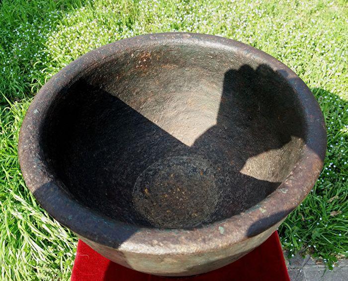 Iron mortar - Italy - 17th century