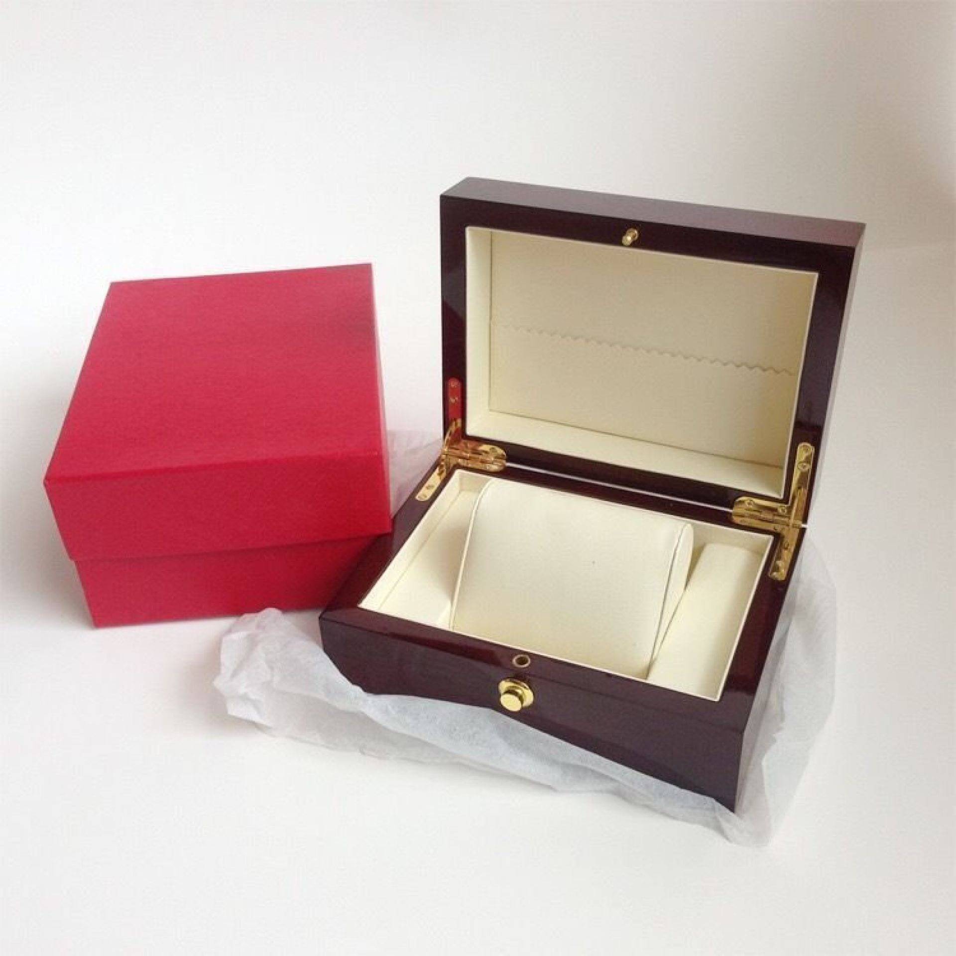 OMEGA VINTAGE CALENDAR DATE 1962 MENS AUTOMATIC SEAMASTER GOLD WATCH + BOX