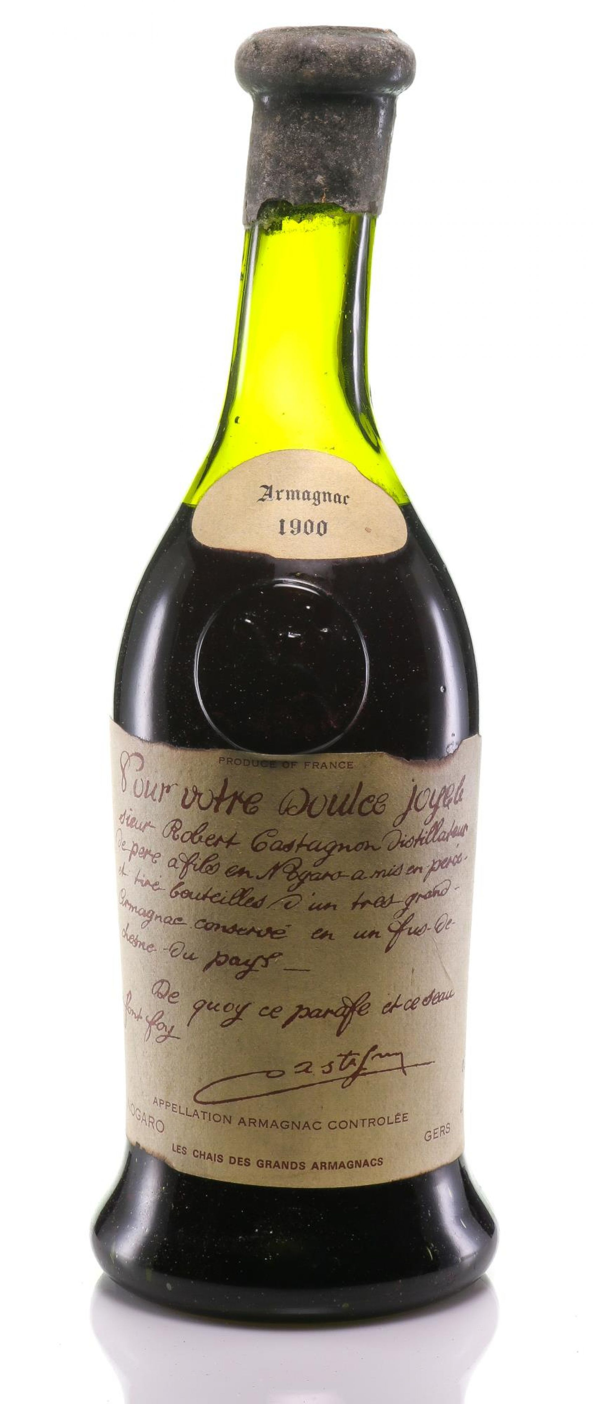 Armagnac 1900 Castagnon