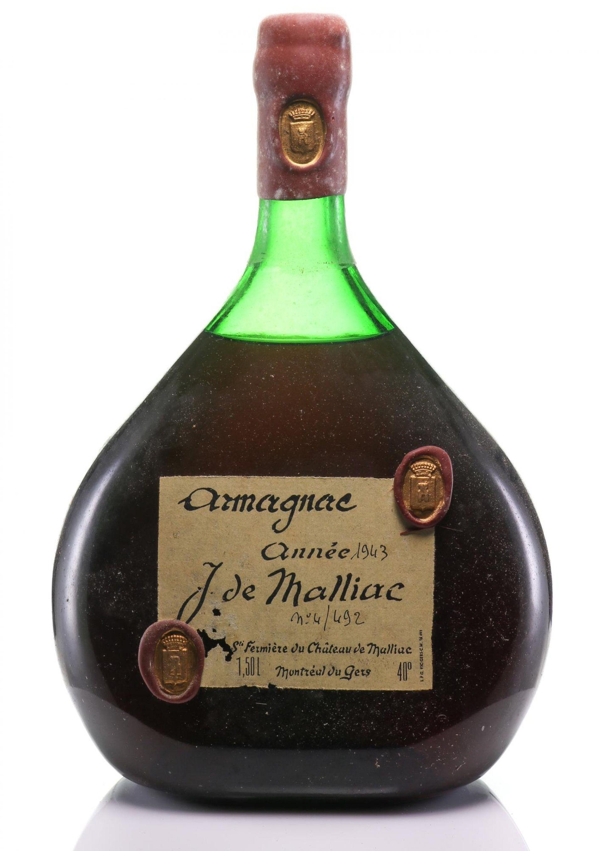 Armagnac 1943 Malliac, De
