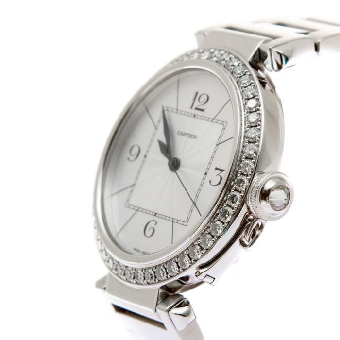 Cartier - Pasha 42 mm factory diamonds new 65000 euro - 2765 - Unisex - 2000-2010