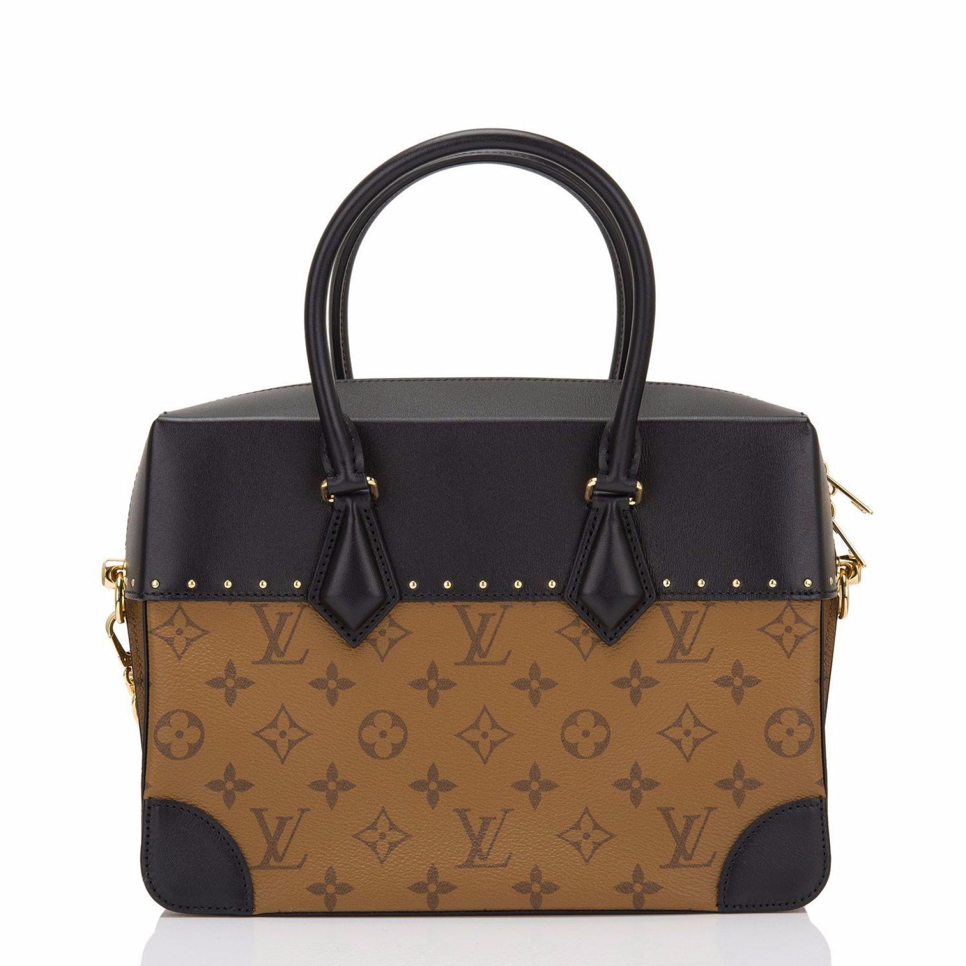 Louis Vuitton Monogram Reverse City Malle MM