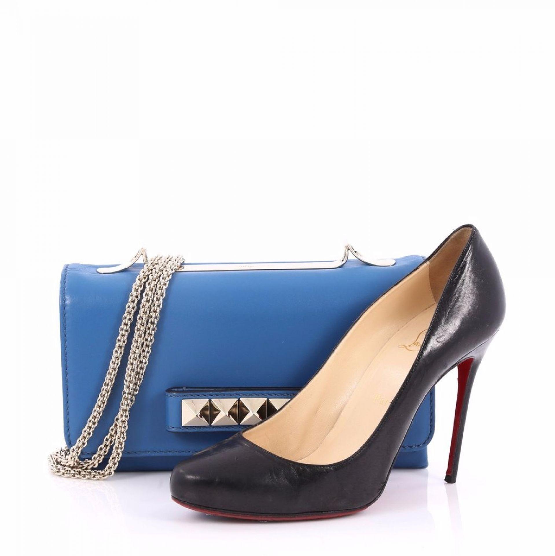 Valentino Va Va Voom Clutch Leather Medium