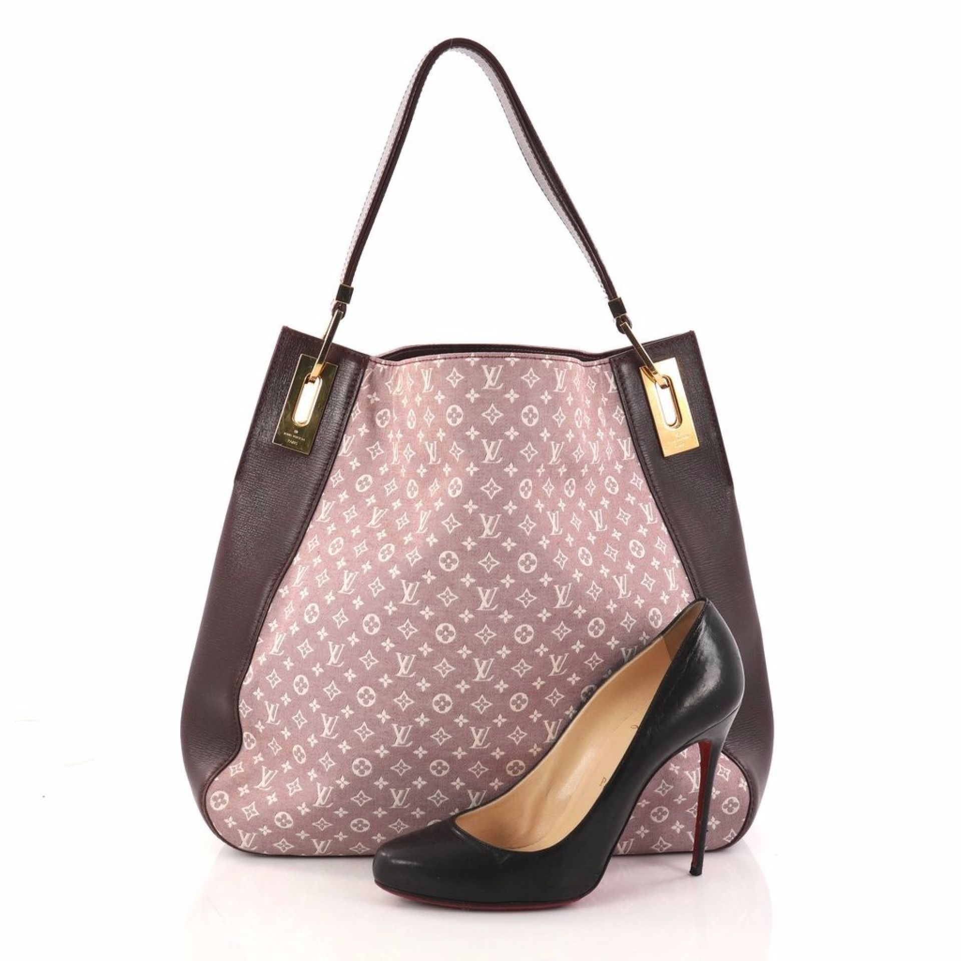 Louis Vuitton Rendez Vous Handbag Monogram Idylle MM