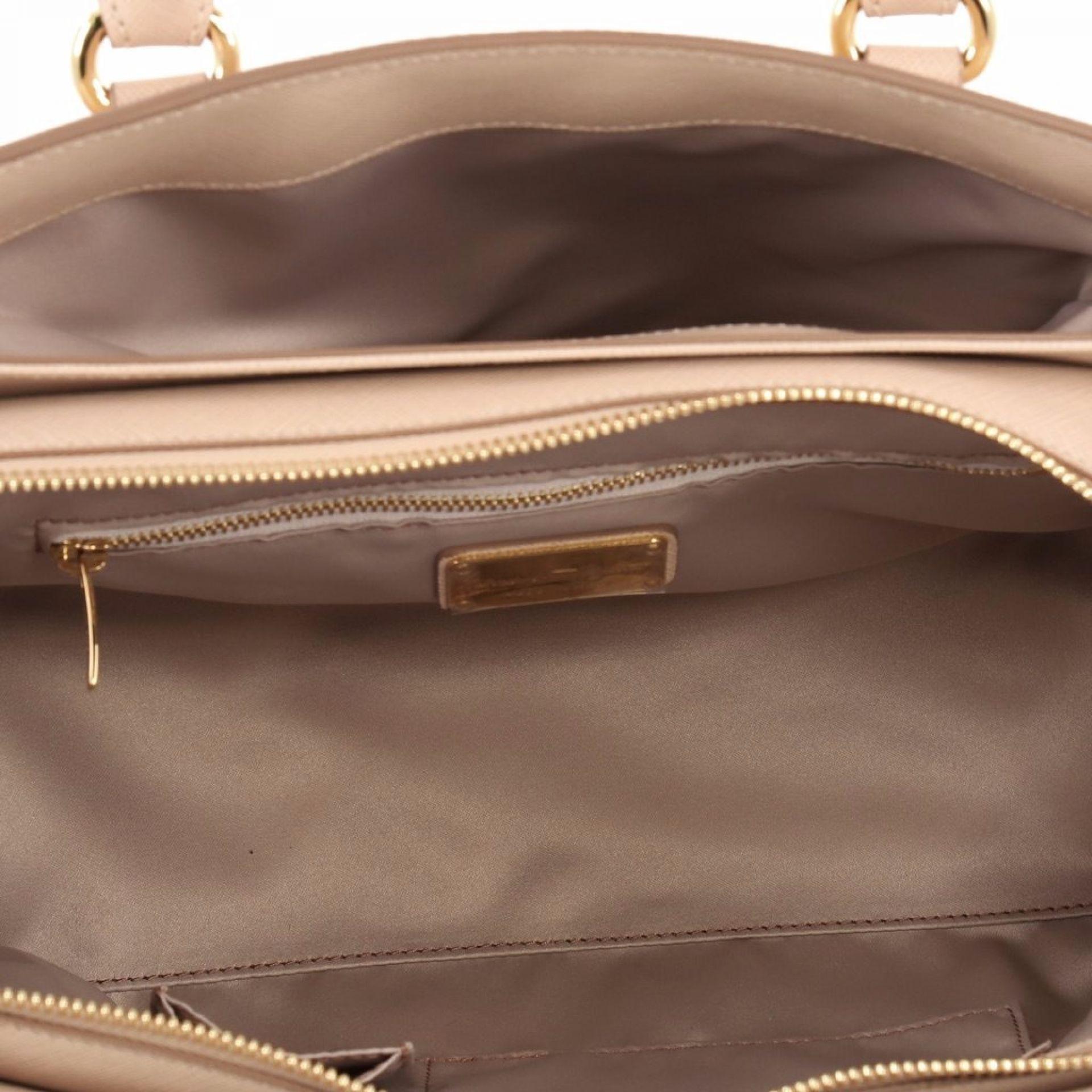 Salvatore Ferragamo Batik Convertible Satchel Leather Small