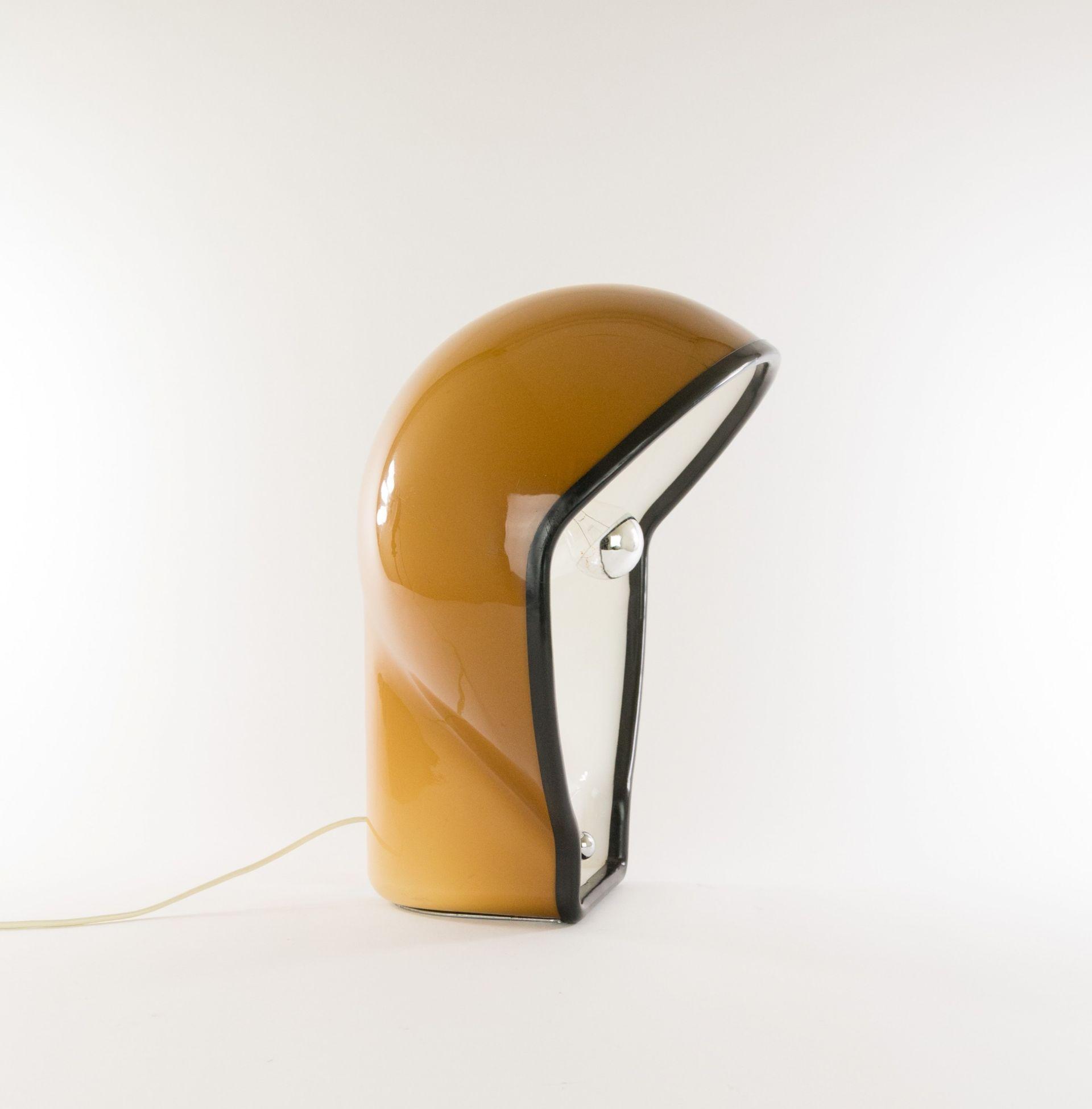 Birghitta table lamp by Fabio Lenci for Harvey Guzzini, 1970s