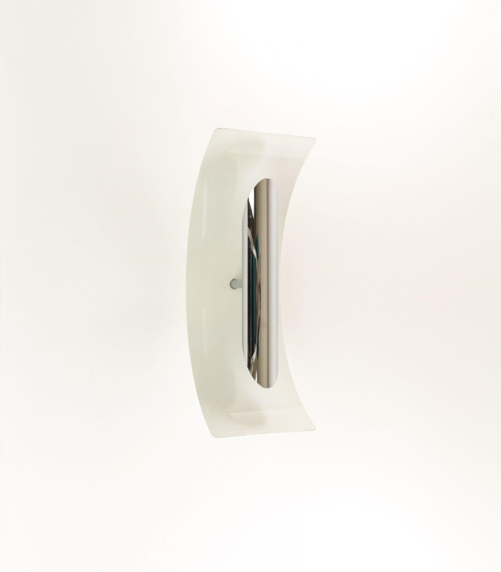 Chromed metal wall Lamp by Goffredo Reggiani for Reggiani, 1970s