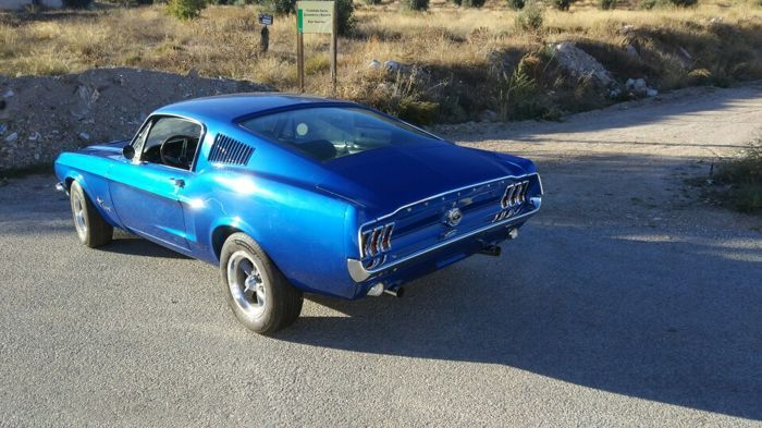 Ford USA - Mustang Fastback - 1968