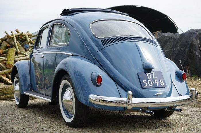 Volkswagen - Kever 1200 Ragtop- 1957