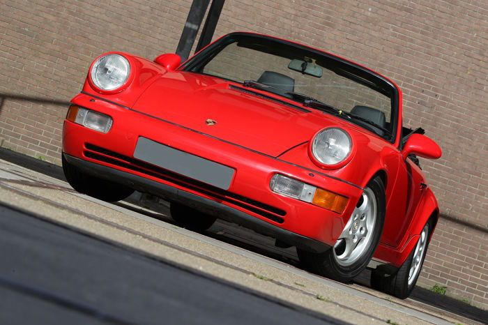 Porsche - 911 Cabrio 3.6 carerra 2 - 1991