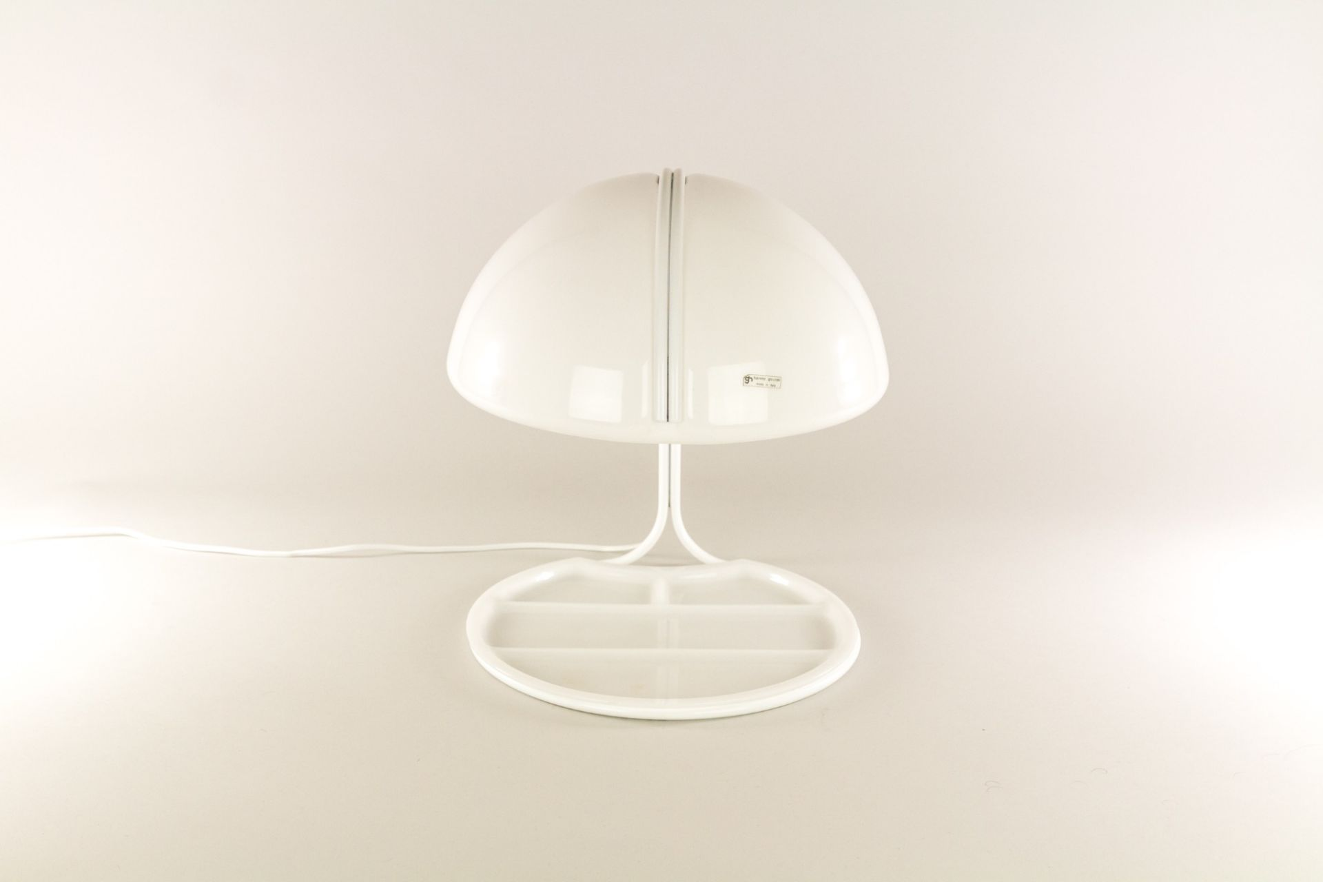 Conchiglia table lamp by Massoni and Buttura for Harvey Guzzini, 1960s
