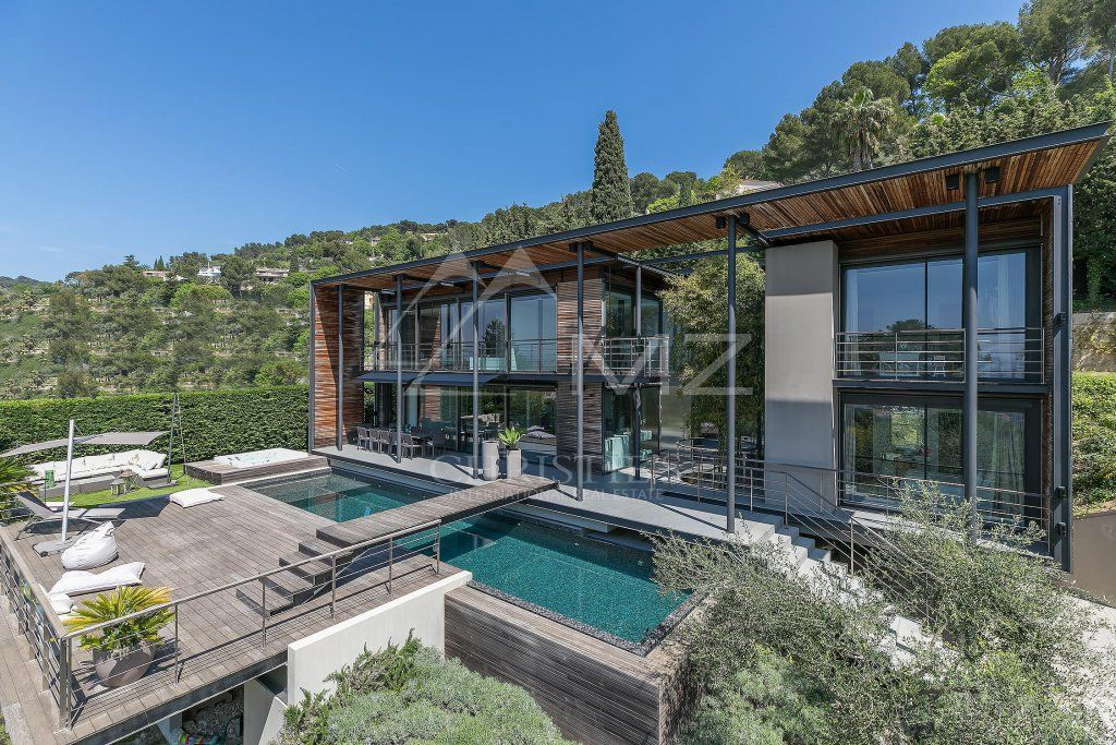 Close to Cannes - On the heights - Contemporary property