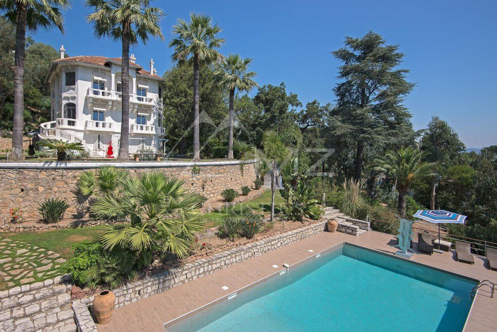 Close to Cannes - Master house sea view