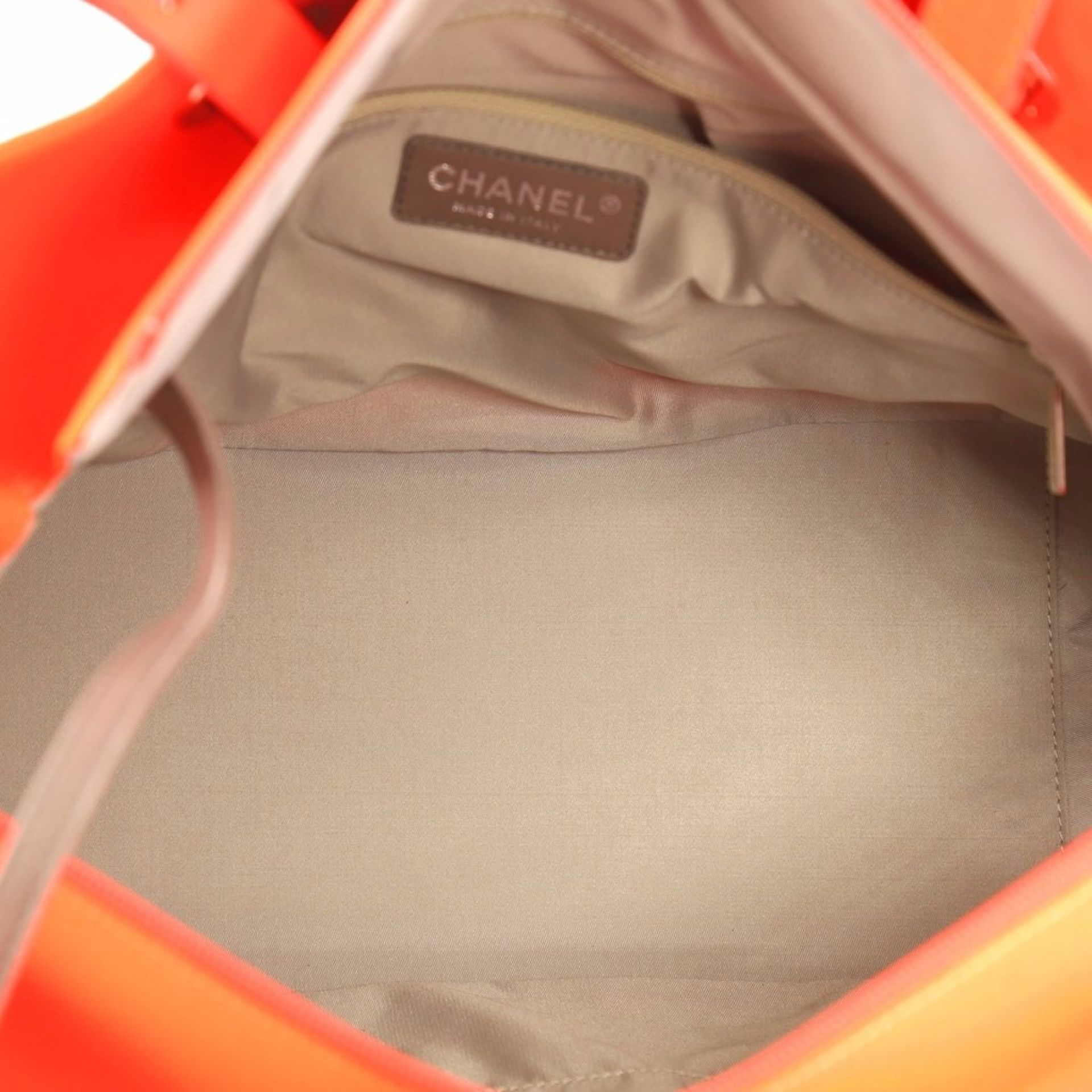 Chanel Biarritz Pocket Tote Quilted Canvas Large