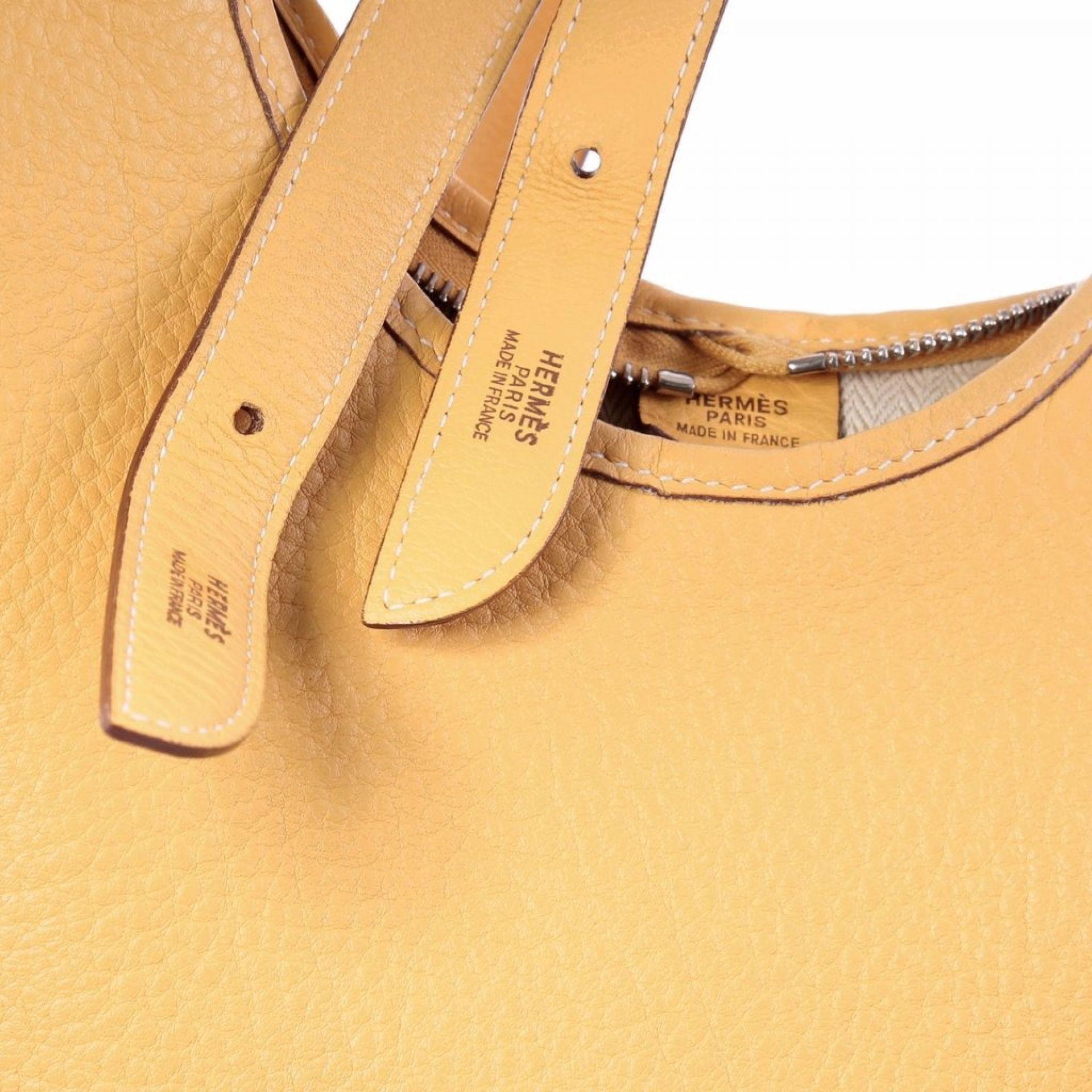 Hermes Massai Handbag Leather 32