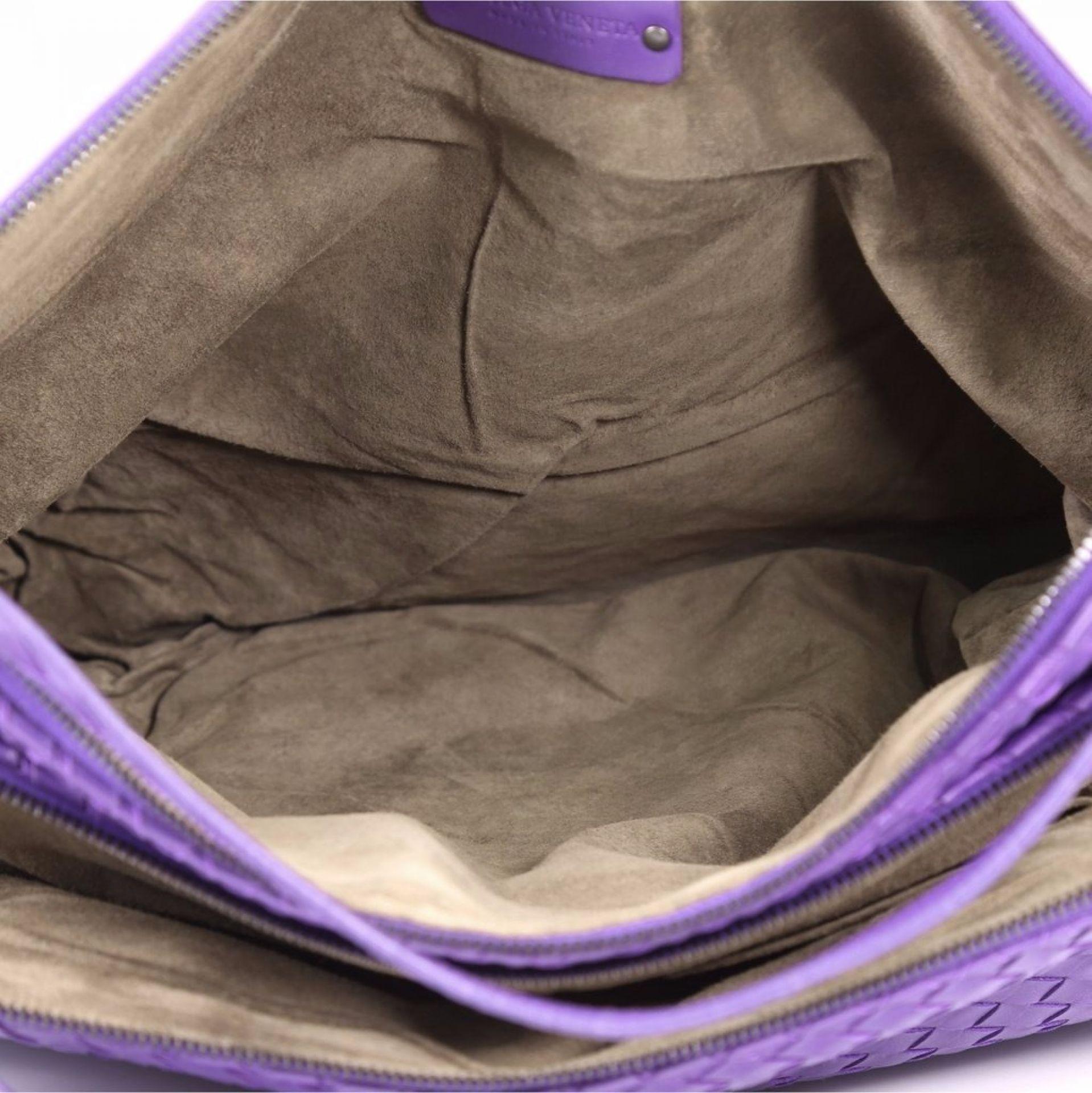 Bottega Veneta Double Compartment Tote Intrecciato Nappa Large