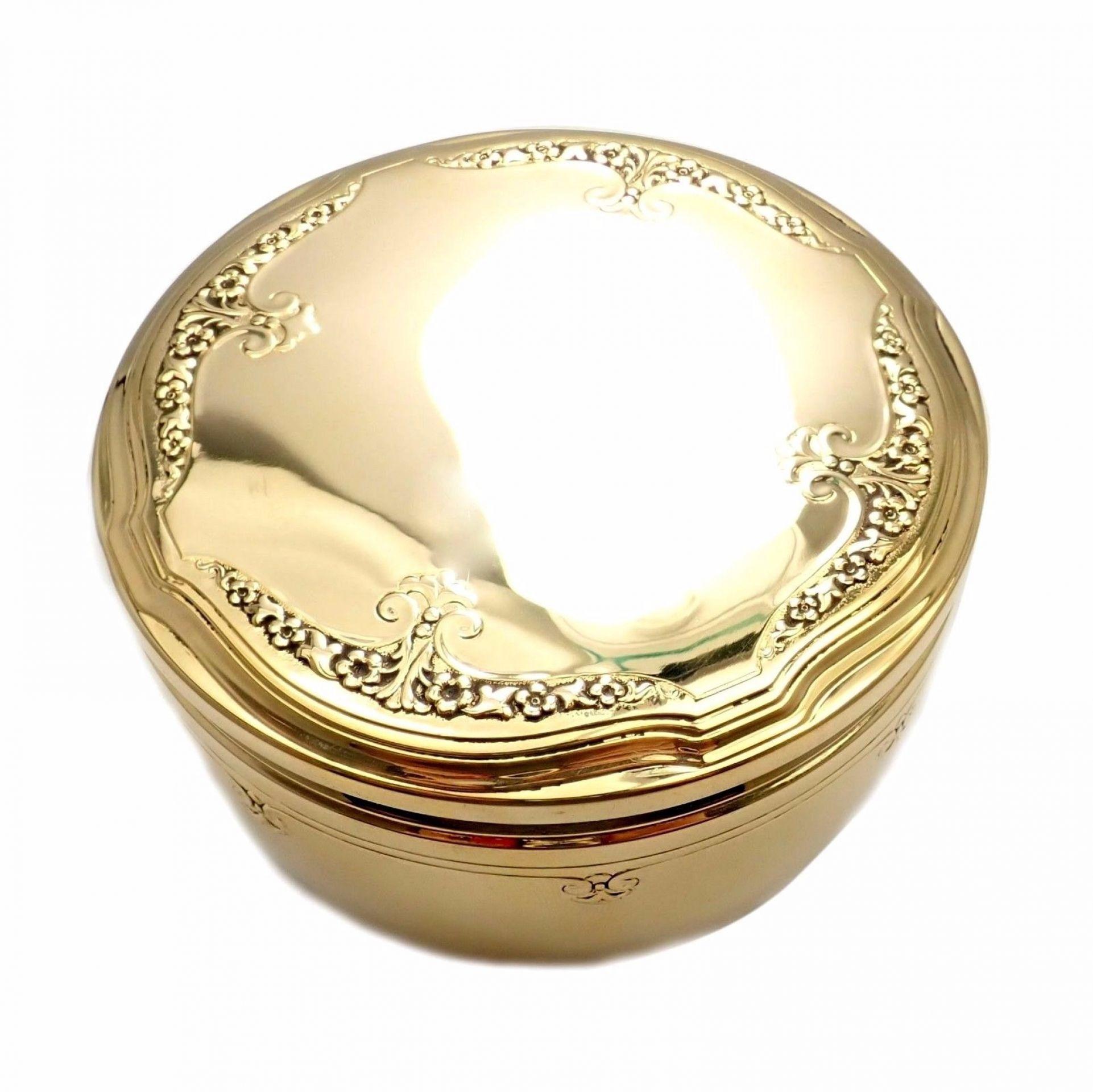 Rare! Antique Vintage Tiffany & Co 18k Solid 269.1 Grams Yellow Gold Jar c.1910