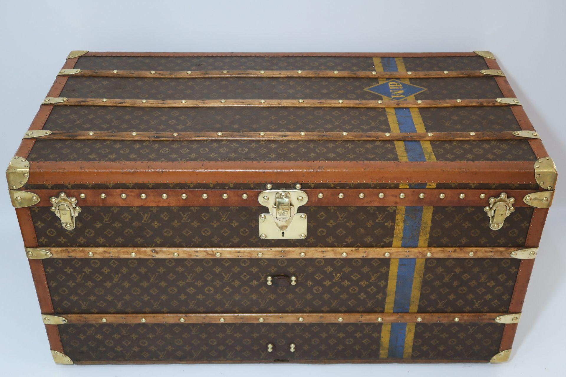 Louis Vuitton Monogram Courier Trunk