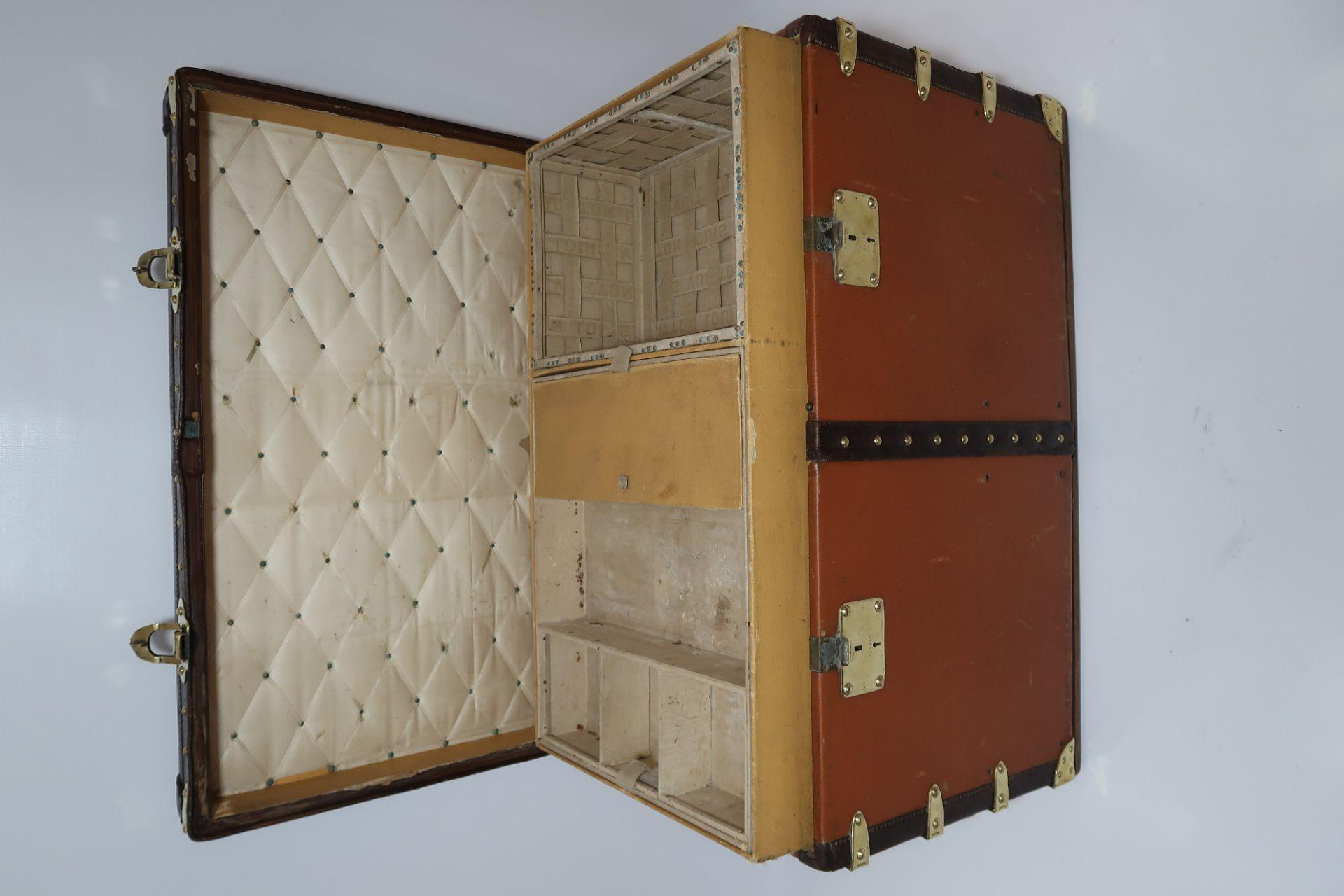 "Louis Vuitton ""Malle Chemise"" Trunk, 1 of the 100 Legendary Trunks"