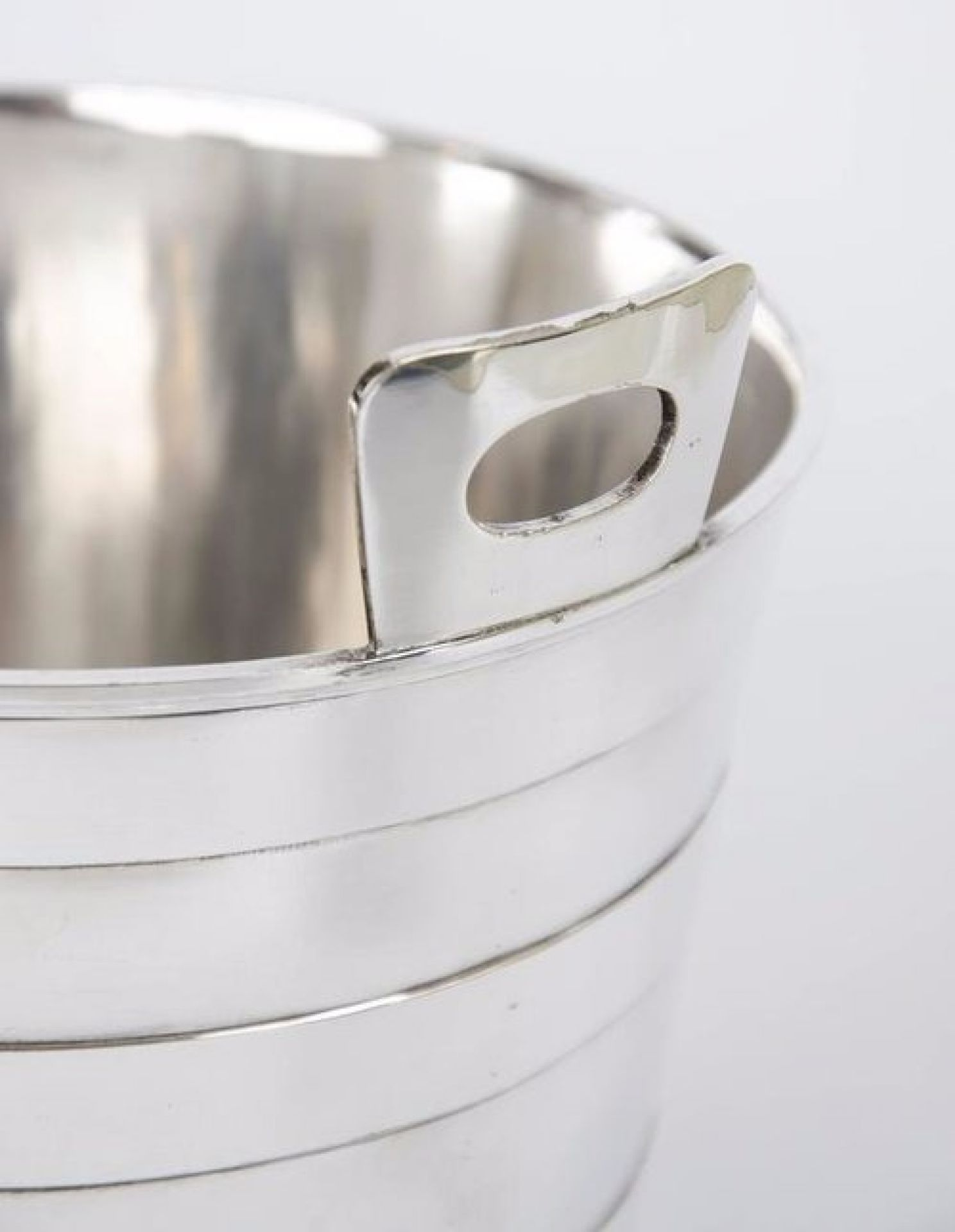 Silver Plate Ice Bucket and Tongs Mappin and Webb
