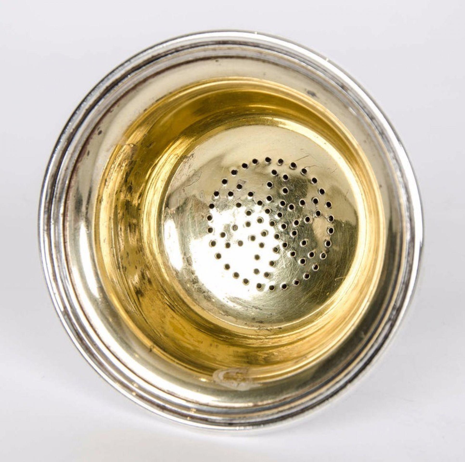 Silver Plate Wine Funnel