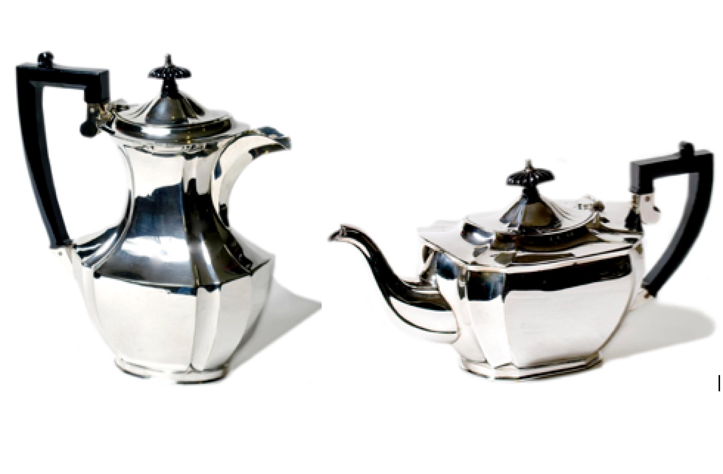 Silver Plate Teapot & Coffee Pot c.1960