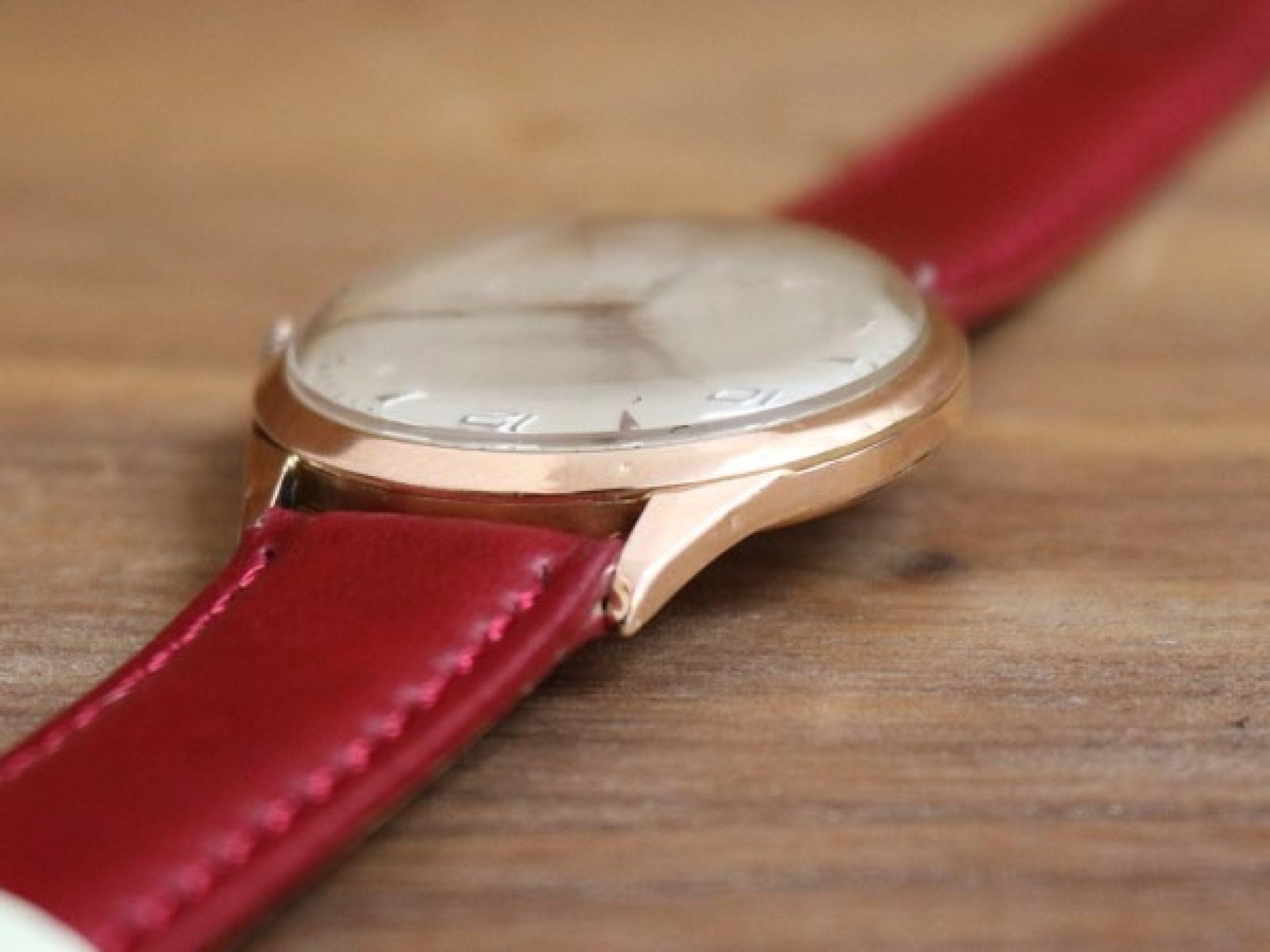 TITUS DRESS WATCH 18KT ROSE GOLD