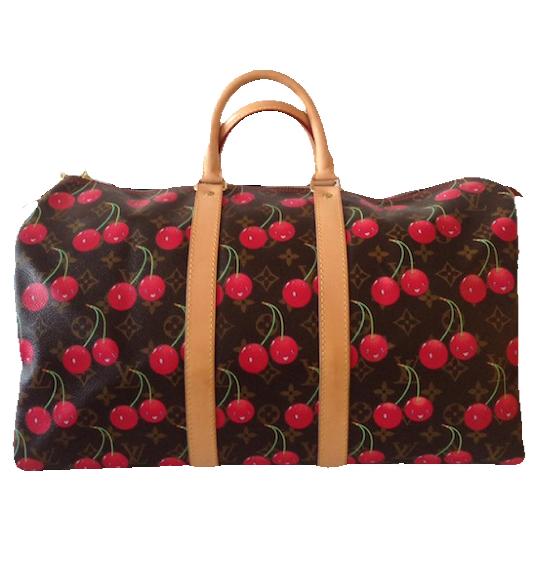Louis Vuitton Louis Vuitton Keepall Collection Cherries Bag by Takashi Murakami